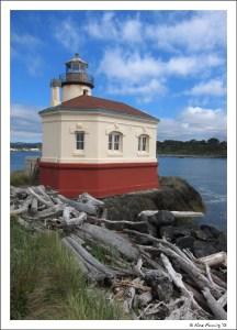 The cutest little lighthouse on the coast...
