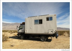 How'd you like to travel the world in this rig?