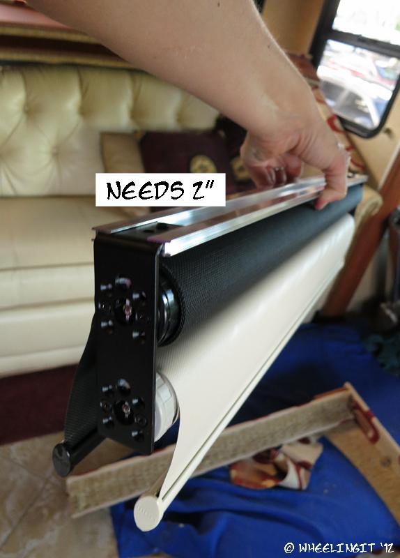 Easy Rv Mod Gt Install Mcd Shades Wheeling It