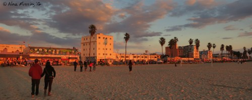 Late PM glow at Venice Beach