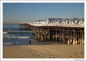 By Crystal Pier in Pacific Beach