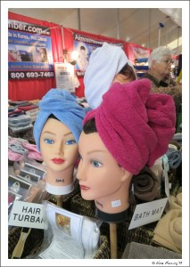 The turban? No, I don't think so...