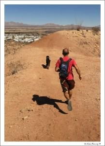 Running the ridge back to the SKP park