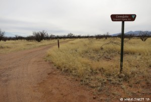 Entrance to Cienguitas Camp area