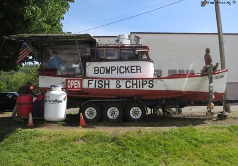Bowpicker Fish & Chips...sooooooo yummy!
