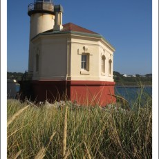 """Back """"On The Job"""" -> Lighthouse Hosting At Coquille River Lighthouse, OR"""