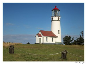 Gorgeous Cape Blanco Lighthouse on a fine day