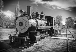 A fine 1909 Baldwin 4-6-0 engine #9