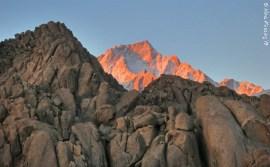 White-tipped mountains