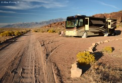 Our spacious boondocking site thanks to the scoping efforts of Amanda at Watsons Wonder
