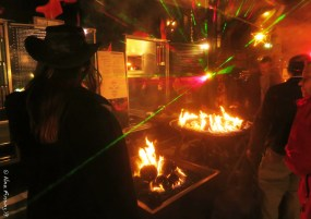 Chris goes psychedelic at a fire display