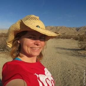 Selfie from the desert