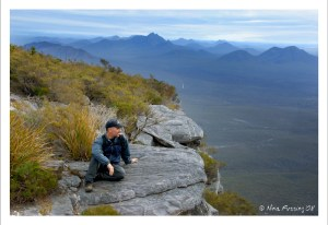 On a hike in the Stirling Range