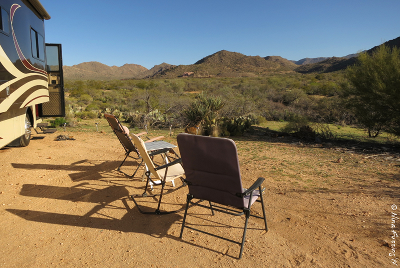 Boondocking Site Review Ghost Town Road Congress Az Wheeling It