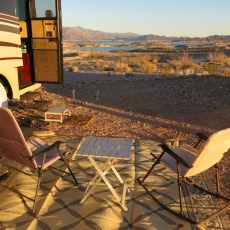 "4 Ways To ""Glamp Up"" Your Outdoor Boondocking Area"