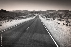 This is some of the loneliest highway in the world...
