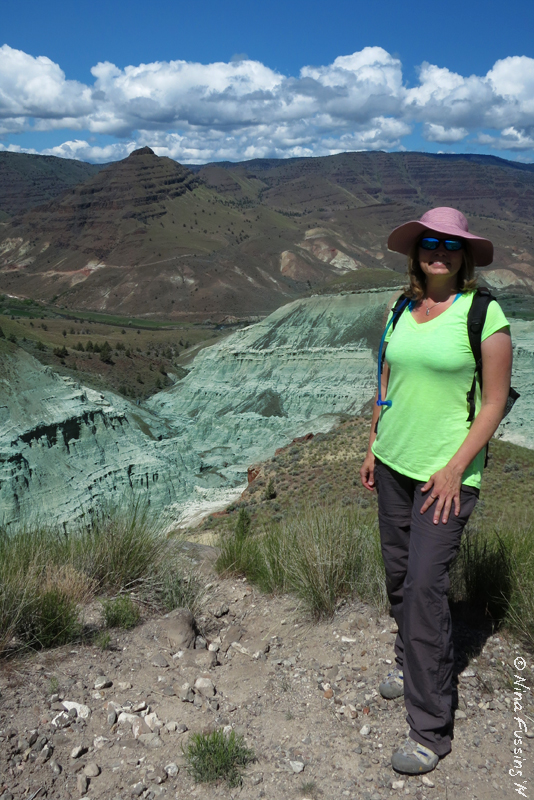 John Day Fossil Beds Part I Blue Basin Dreams Wheeling It