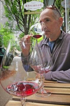 Tasting at R.Stuart