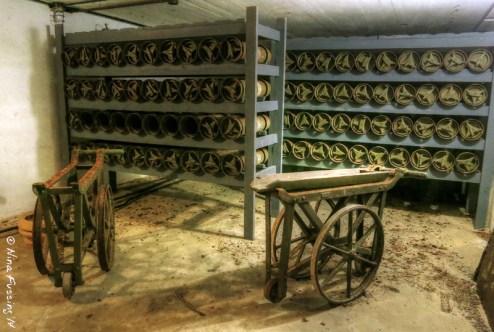 Old munitions depot at Cape D