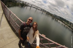 Paul & Alex in Portland. Copyright @alexandra__3