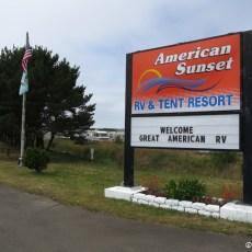 RV Park Review – American Sunset RV & Tent Resort, Westport, WA