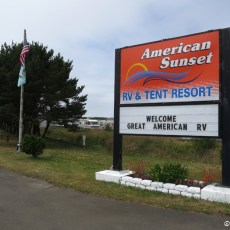 RV Park Review – American Sunset RV & Tent Resort, Westport, WA