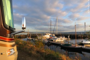 Our new, sweet site at Point Hudson Marina