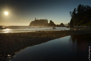 Late afternoon at Ruby Beach