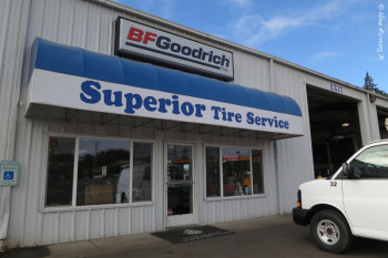 We go to tire specialists for tires. This is Superior Tire in Eugene, OR