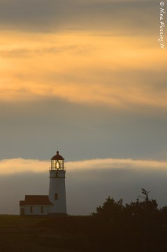 Another fine lighthouse sunset