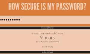 Many of our existing passwords were poor