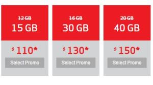 We took the 40GB plan