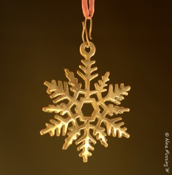 One of our metal ornaments