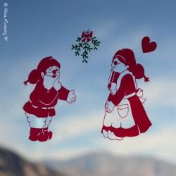 We've got Santa on our windows