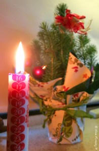 This years Calender Candle and mini-tree