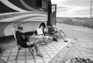 Entertaining boondocking buddies