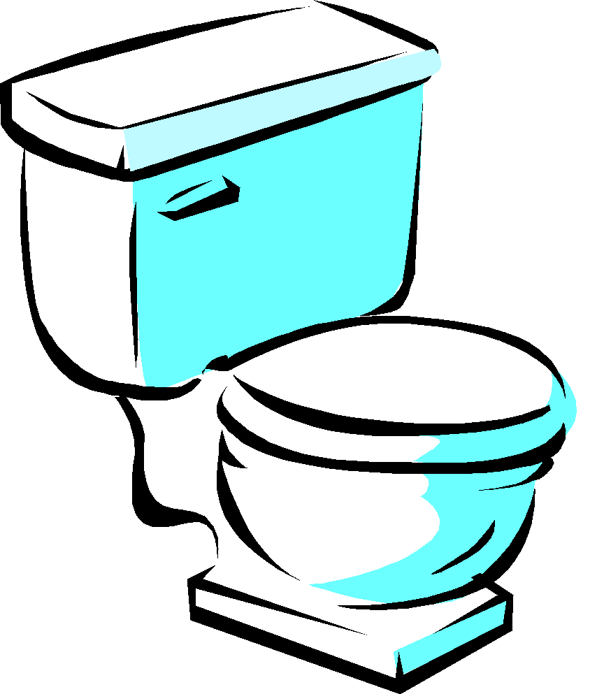 Drain Clipart Bathroom Toilet Clipart