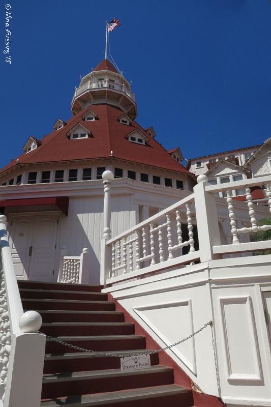 The gorgeous Hotel Del Coronado