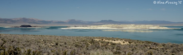 Mono lake with her ying-yang islands much as I first saw her years ago