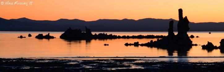 The South Tufa's at sunrise