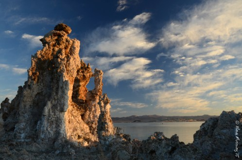 Tufa's and clouds