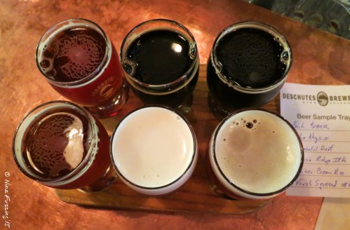 A yummy flight at Deschutes