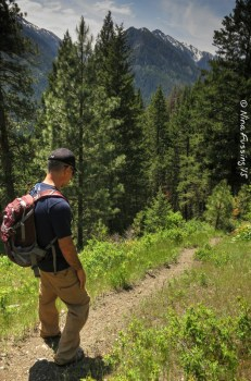 Hiking high on Joseph Mountain