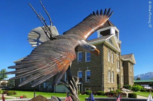 The Eagle by the Enterprise Court House