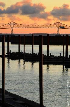 The Astoria Bridge at sunset