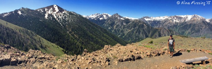 Panorama from the top. ALL OURS!!!