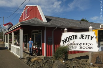 Cozy North Jetty Brewery surprised us...in a good way