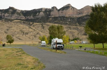 Upper Loop -> Truck camper in site 87