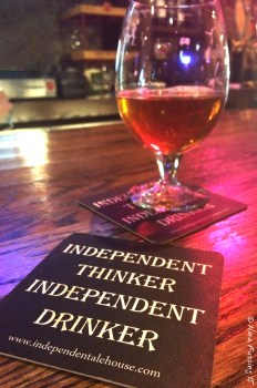 Celebration brew at Independent Ale House