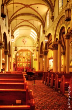 Inside of St.Francis Assisi Cathedral